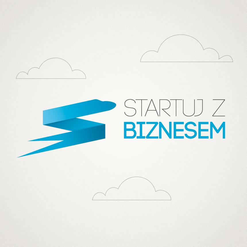 Projekt logo Startuj z Biznesem
