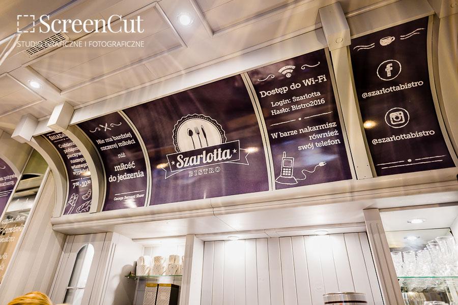 Banery PCV jako element dekoracji restauracji