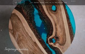 Malita - Strona Internetowa - meble, stoły